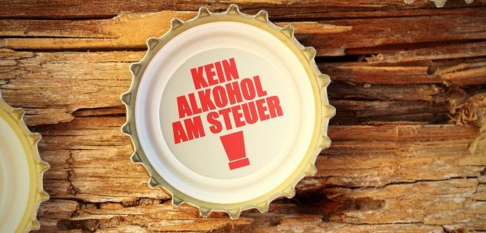Wenn man diesem Hinweis folgeleistet, dann hat man bei einer Alkoholkontrolle nichts zu befürchten