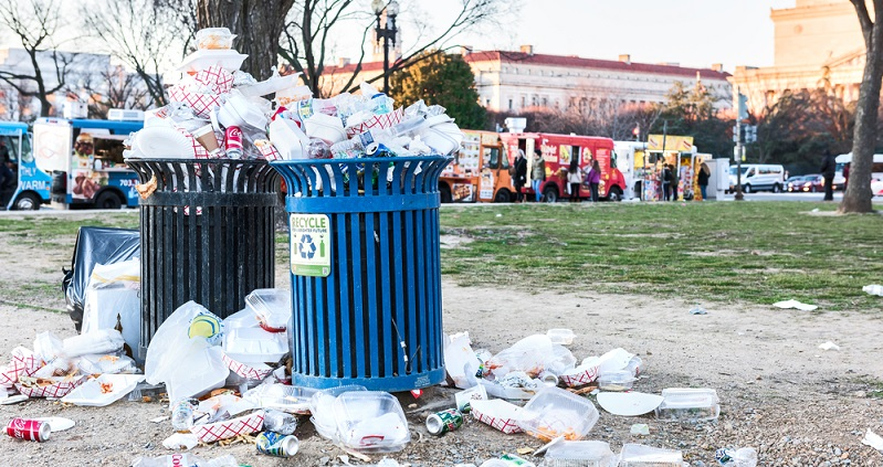 Der achtlose Umgang mit Abfall nimmt immer mehr zu. Das ist leider eine Tatsache. (#01)