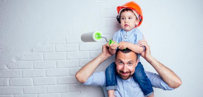 Bei Auszug streichen: Fleckig und Streifen vermeiden – so geht's! (Foto: Shutterstock - yurakrasil)
