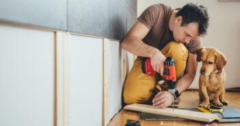 Renovierung bei Auszug: Neues Gesetz 2019 regelt die Kostenumlage auf den Mieter (Foto: Shutterstock - Zivica Kerkez)